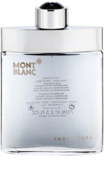 Montblanc Individuel toaletní voda tester pro muže 75 ml