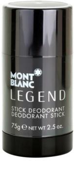 Montblanc Legend desodorante en barra para hombre 75 g