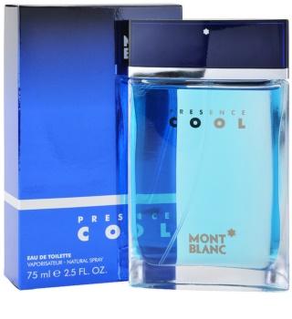 Montblanc Presence Cool eau de toilette pentru barbati 75 ml