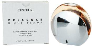 Montblanc Presence d'une Femme woda toaletowa tester dla kobiet 75 ml