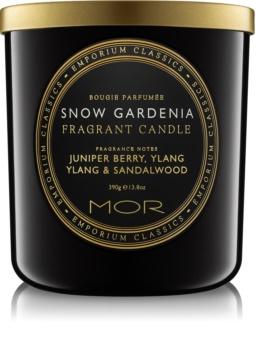 MOR Snow Gardenia lumânare parfumată  390 g