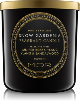 MOR Snow Gardenia Scented Candle 390 g