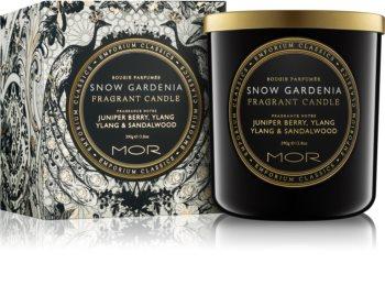 MOR Snow Gardenia vonná svíčka 390 g