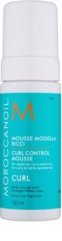 Moroccanoil Curl mousse per capelli mossi
