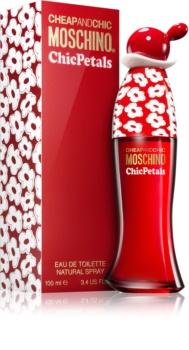Moschino Cheap & Chic  Chic Petals Eau de Toilette voor Vrouwen  100 ml