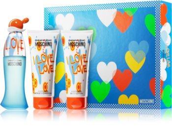 Moschino I Love Love darčeková sada VI.