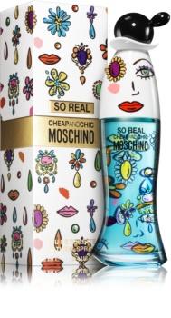 Moschino So Real toaletní voda pro ženy 100 ml