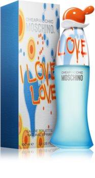 Moschino I Love Love Eau de Toilette Für Damen 100 ml