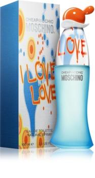 Moschino I Love Love Eau de Toilette voor Vrouwen  100 ml