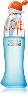 Moschino I Love Love Eau de Toilette Damen 100 ml