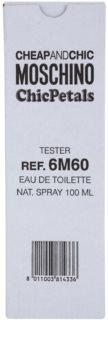 Moschino Cheap & Chic Chic Petals eau de toilette teszter nőknek 100 ml