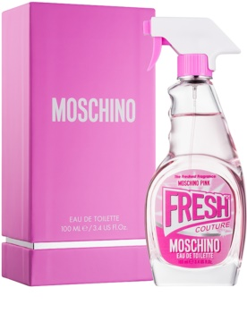 Moschino Fresh Couture Pink Eau de Toilette for Women 100 ml