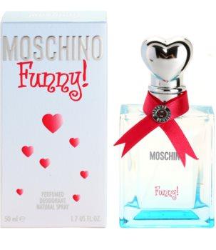 Moschino Funny! deodorant s rozprašovačem pro ženy 50 ml