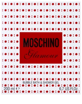 Moschino Glamour gel douche pour femme 200 ml