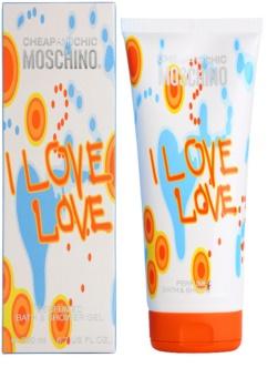 f3a9ced1f68fe9 Moschino I Love Love, żel pod prysznic dla kobiet 200 ml | notino.pl