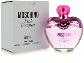 Moschino Pink Bouquet eau de toilette teszter nőknek 100 ml