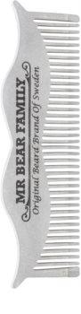 Mr Bear Family Grooming Tools peigne à barbe en acier