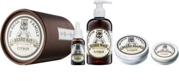 Mr Bear Family Citrus Kosmetik-Set  I. für Herren