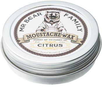 Mr Bear Family Citrus wosk do wąsów