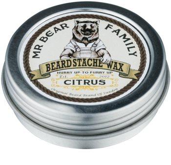 Mr Bear Family Citrus Skäggvax
