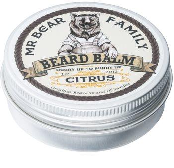 Mr Bear Family Citrus balsamo per barba