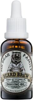 Mr Bear Family Skincare olejek do golenia dla mężczyzn