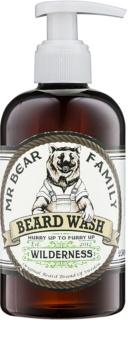 Mr Bear Family Wilderness šampon na vousy