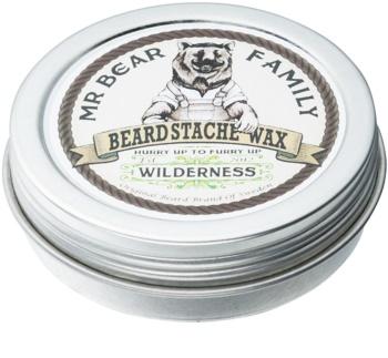 Mr Bear Family Wilderness vosk na vousy