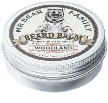 Mr Bear Family Woodland balsamo per barba