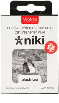 Mr & Mrs Fragrance Niki Black Tea ambientador de coche para ventilación   recarga de recambio