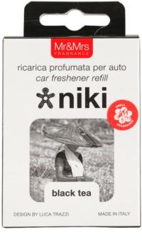 Mr & Mrs Fragrance Niki Black Tea vôňa do auta   náhradná náplň