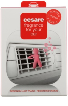 Mr & Mrs Fragrance Cesare Silky Rose Car Air Freshener 1 pc