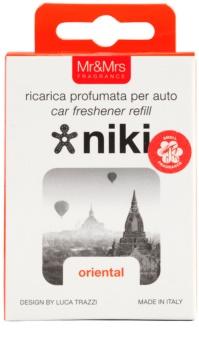 Mr & Mrs Fragrance Niki Oriental ambientador de coche para ventilación   recarga de recambio