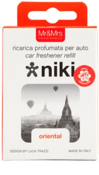 Mr & Mrs Fragrance Niki Oriental vôňa do auta   náhradná náplň