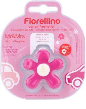 Mr & Mrs Fragrance Fiorellino Pepper Mint vôňa do auta