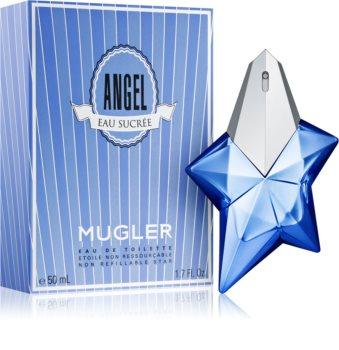 Mugler Angel Eau Sucrée 2017 toaletní voda pro ženy 50 ml