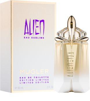 Mugler Alien Eau Sublime toaletní voda pro ženy 60 ml
