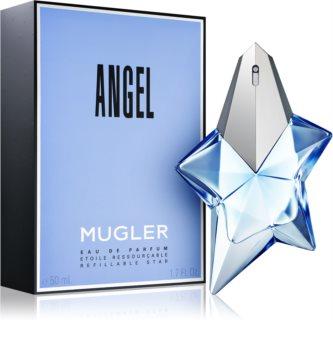 Mugler Angel Eau de Parfum Damen 50 ml Nachfüllbar