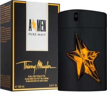 Mugler A*Men Pure Malt eau de toilette férfiaknak 100 ml