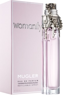 Mugler Womanity eau de parfum nőknek 80 ml utántölthető