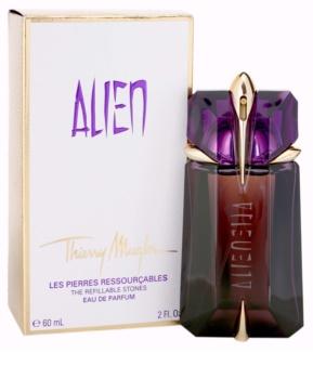 Mugler Alien eau de parfum para mujer 60 ml recargable