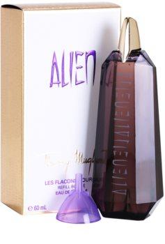 Mugler Alien Eau de Parfum voor Vrouwen  60 ml Navulling