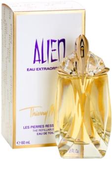 Mugler Alien Eau Extraordinaire toaletní voda pro ženy 60 ml plnitelná