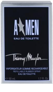Mugler A*Men woda toaletowa dla mężczyzn 50 ml napełnialny Rubber Flask