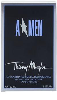 Mugler A*Men woda toaletowa dla mężczyzn 100 ml napełnialny Metal Flask