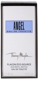 Mugler Angel eau de toilette pentru femei 40 ml rezerva