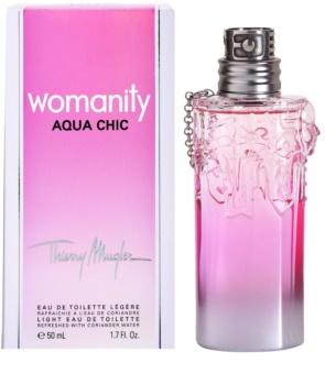 Mugler Womanity Aqua Chic 2013 Edition eau de toilette per donna 50 ml