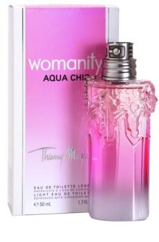 Mugler Womanity Aqua Chic 2013 Edition eau de toilette pentru femei 50 ml