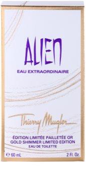 Mugler Alien Eau Extraordinaire Gold Shimmer Limited Edition eau de toilette pentru femei 60 ml