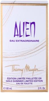 Mugler Alien Eau Extraordinaire Gold Shimmer Limited Edition toaletná voda pre ženy 60 ml
